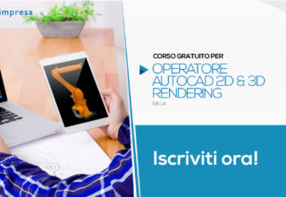 Corso Gratuito per Operatore Autocad 2D & 3D Rendering | Gela