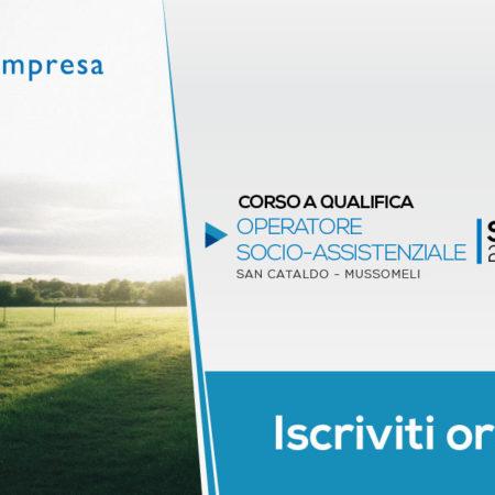 Corso OSA – Operatore Socio Assistenziale | San Cataldo – Mussomeli