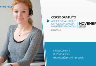 Corso per Addetto al Front Office con Lingua Inglese E Spagnola | Mantova