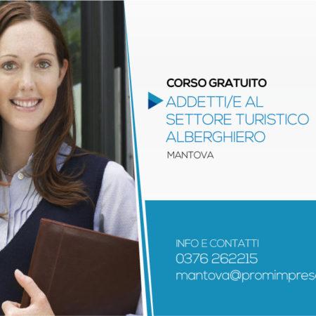 Corso Gratuito per Addetto al Settore Turistico Alberghiero | Mantova
