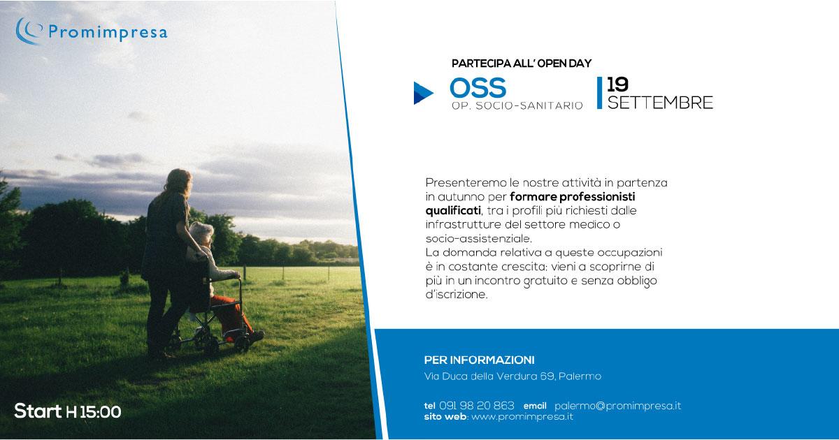 Corso per Operatore Socio Sanitario a Palermo - Vieni all'Open Day gratuito!
