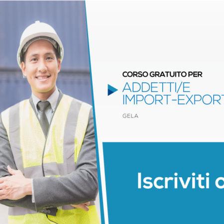 Addetti import/export con lingua inglese | Gela