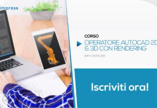 Corso per Operatore Autocad 2D & 3D Rendering | San Cataldo