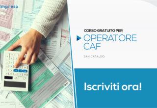 Corso per Operatore CAF | San Cataldo