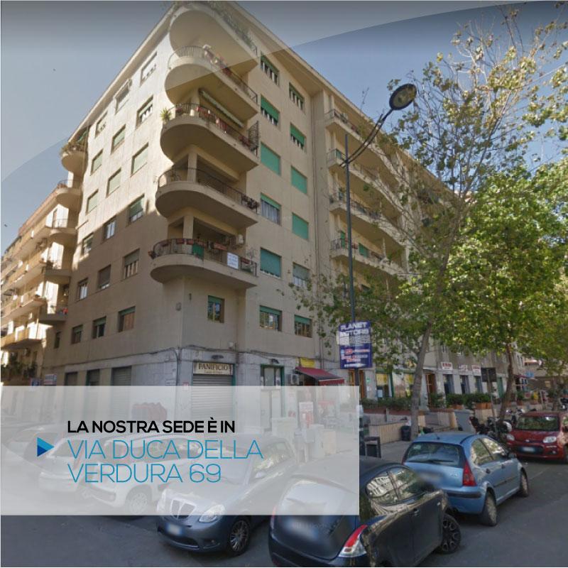 La nostra sede a Palermo è in via Duca della Verdura 69 | Vieni a trovarci | Promimpresa Srl