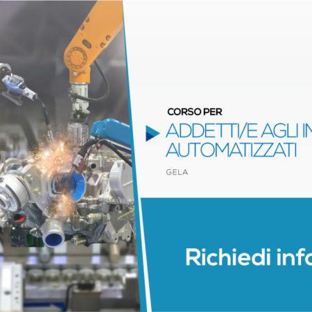Corso per Addetto agli Impianti Automatizzati | Gela