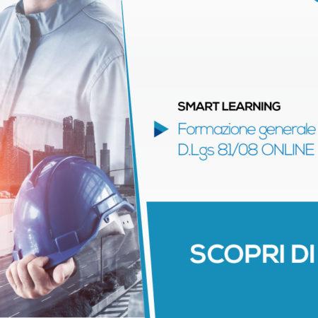 Formazione Generale Lavoratori in Smart Learning   CORSO GRATUITO