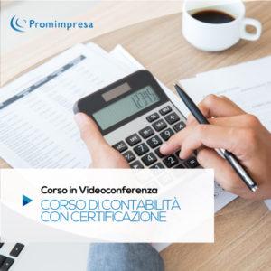 corso di contabilità online