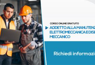Corso per Addetto alla Manutenzione Elettromeccanica e Disegno Meccanico (Gratuito) | Formazione Online