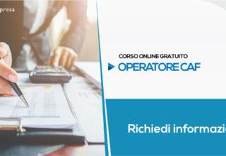 Corso per Operatore CAF (Gratuito) | Formazione Online